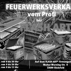 Silvester-Feuerwerksverkauf