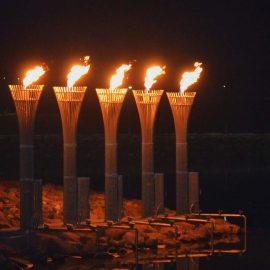 Flammeninstallation Gaziantep