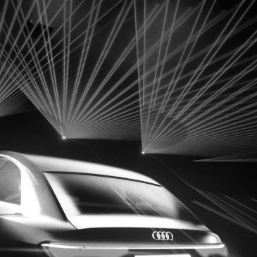 Audi Show Room auf der CES Asia