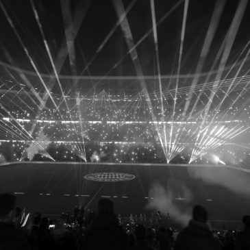 Lasershow FC Bayern München